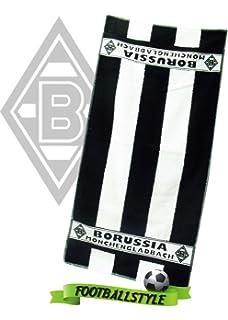 Bertels/ gestreift /Duschtuch der Borussia M/önchengladbach