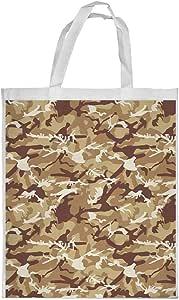 Army clothing Printed Shopping bag, Medium Size