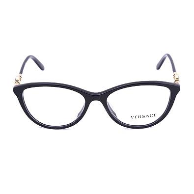 Amazon.com: Versace ve3175 a Lentes de la mujer, negro, 54 ...
