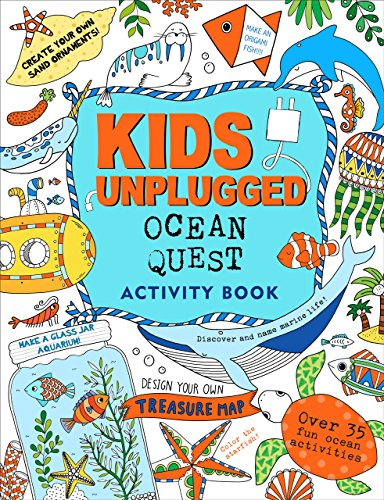 Kids Unplugged Ocean Quest (Activity Book)