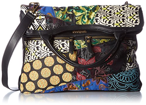 DESIGUAL Designer Tasche - Cordoba Hong Kong Patch - Negro