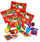 GoGo's Crazy Bones - Series 1 - (4 Packs of 3 Pieces)