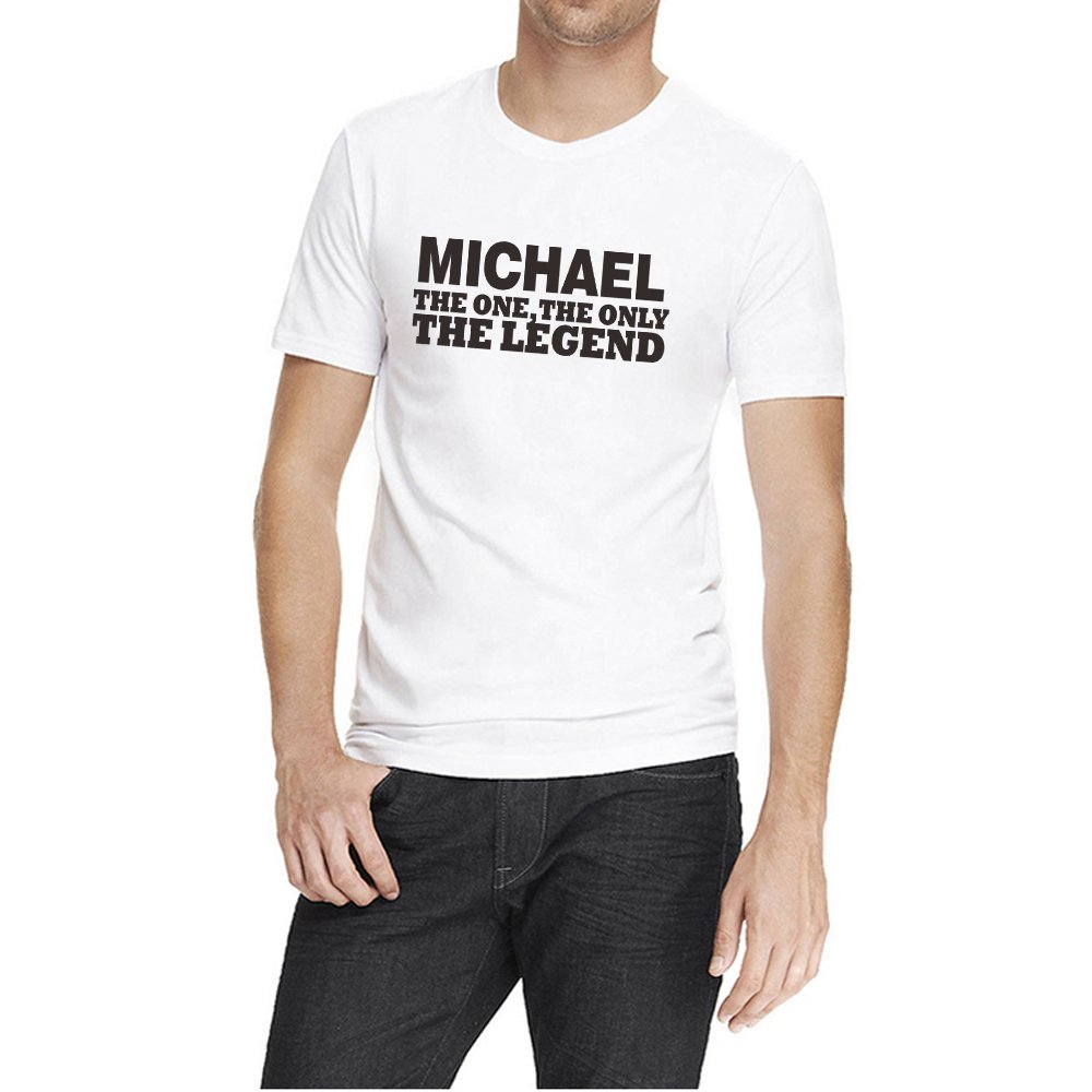 Loo Show Michael The One The Only The Legend Funny T Shirt Crew Tee