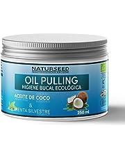 Oil Pulling, Enjuague Bucal Natural - Aceite De Coco & Menta Silvestre, 250ml