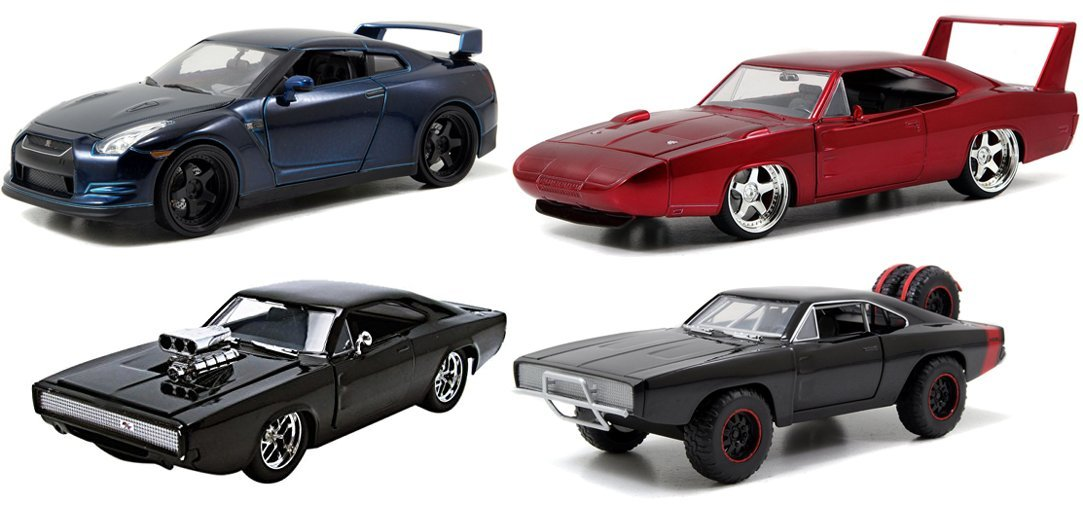 Amazon.com: Fast and Furious 7 1:24 Diecast Car Movie Toy ...