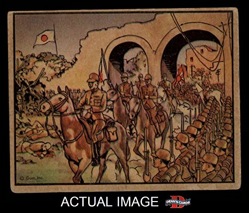 1938 Gum Inc. Horrors of War # 79 Japan's Triumphal Entry into Nanking (Card) Dean's Cards 3 - VG 2025544