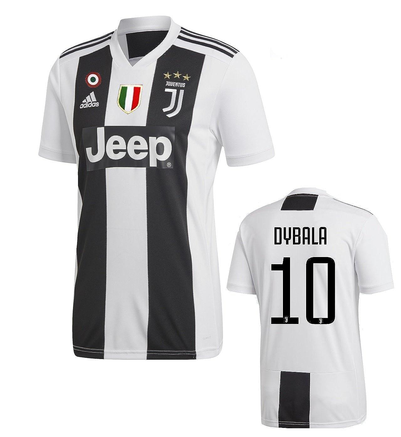 Juventus Adidas Dybala Home Jersey 2018-2019 Adult and Junior