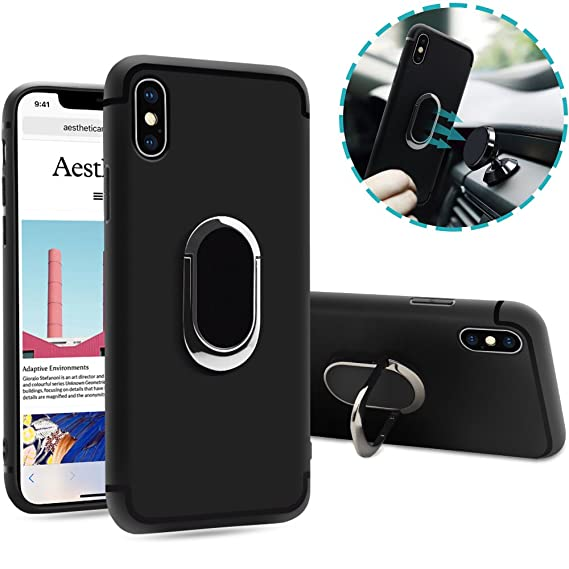 Giveaway iphone x magnetic ring case
