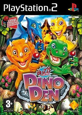 Sony Buzz! Junior: Dinos - PS2 PlayStation 2 vídeo - Juego (PlayStation 2, Arcada, EC (Niños), Cohort Studios): Amazon.es: Videojuegos