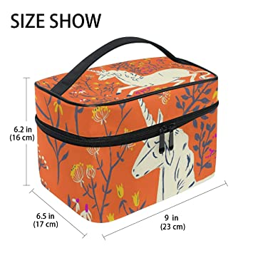 a331a13808d0 Amazon.com : Dragon Sword Running Horse Cosmetic Toilet Bag for ...