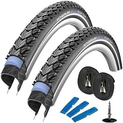 "Schwalbe Fahrrad Reifen Marathon Plus HS440 28x1.10/"" 28-622 Refl.SG EC"