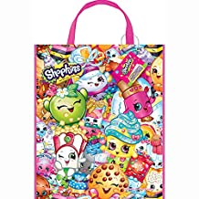 "Large Plastic Shopkins Loot Bag, 13"" x 11"""