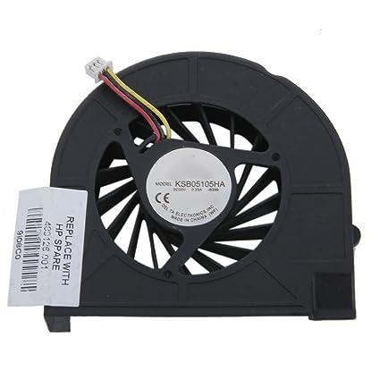Laptop CPU Cooling Fan for Hp Compaq Presario CQ50 CQ60 Black