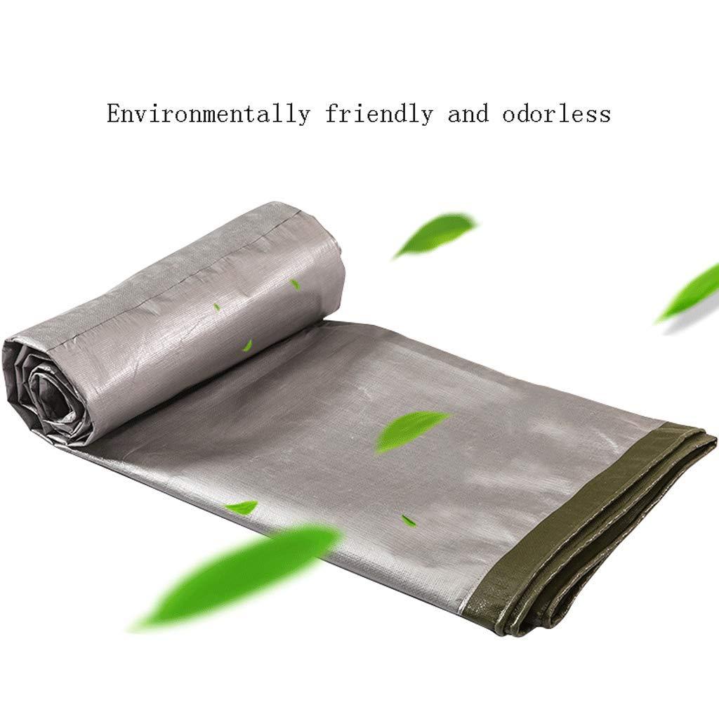 Plane LCSHAN Regendichtes Tuch-starker Wasserdichter Sunscreen-Plastikaußenstaub-Stoff (größe : 4  6m) 6m)  0fe9bb