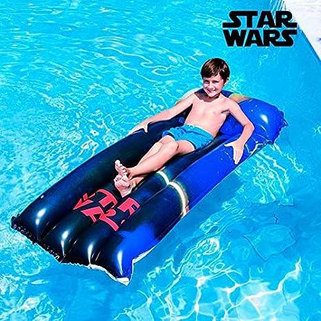 Colchón hinchable Star Wars vinilo resistente - Piscina Mar ...