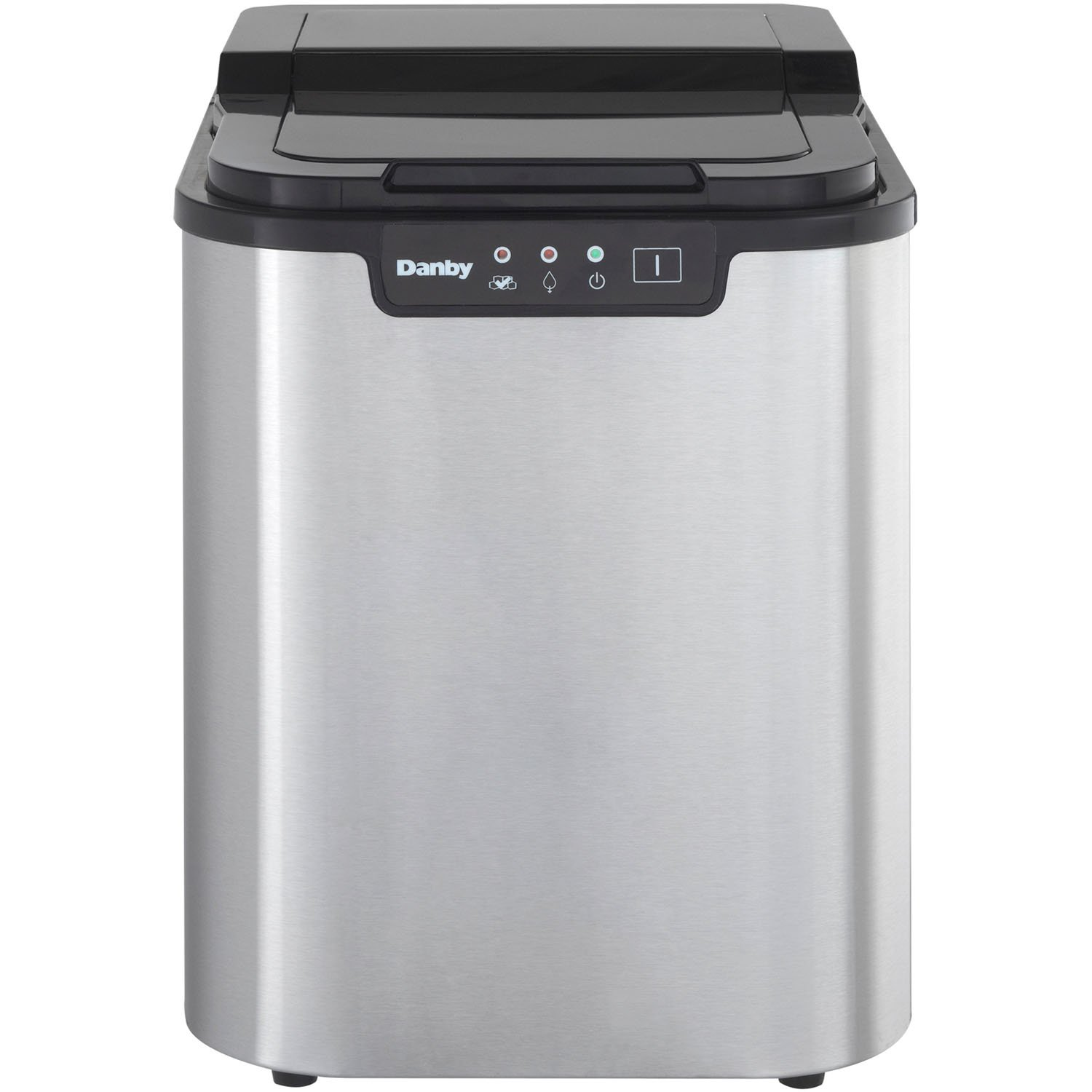 Danby DIM2500SSDB Portable Ice Maker, Stainless Steel ALMO - Dropship