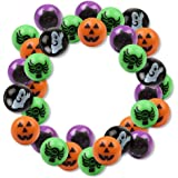 "6 Dozen (72) Bright Halloween Bouncing Balls 1""; Perfect for Trick or Treat; Classroom Giveaways; Party Favors; by Fun Express"