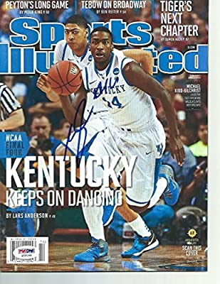 KENTUCKY MICHAEL KIDD-GILCHRIST signed autograph SPORTS ILLUSTRATED PSA/DNA COA - Autographed College Magazines