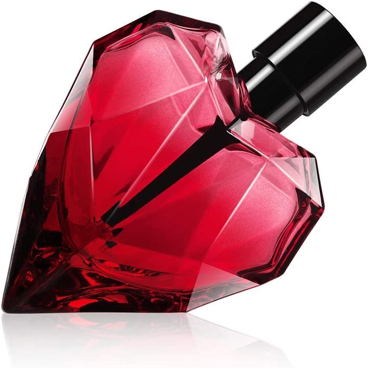 DIESEL Loverdose Red Kiss 50 ml - eau de parfum (Mujeres, Apple, Bergamota, Blackcurrant, Albaricoque, Cacao, Hazelnut, Azahar)
