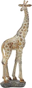 "Ebros Large Mosaic Giraffe Statue 11"" Tall Safari Savannah Standing Reticulated Giraffe Long Neck Animal Figurine Decor"