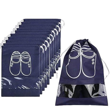 Bolsas organizadoras de zapatos de viaje Favson, con cordón ...