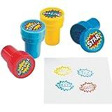 Plastic Superhero Stampers (2 Dz)