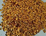 1500pcs 8mm CUP SEQUINS Gold. Loose sequins for embroidery, applique, arts, crafts and embellishment