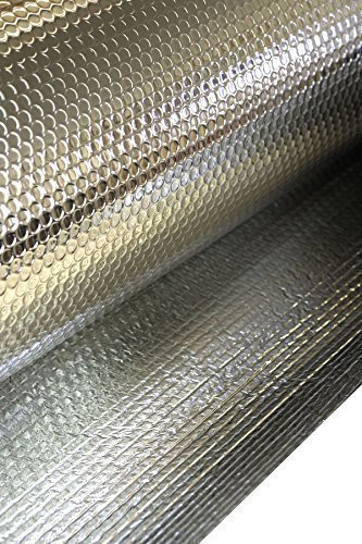 Solar Bay 10 x 1.05m MP 2:2 FOIL INSULATION DOUBLE FOIL DOUBLE BUBBLE 6mm THICK 1 ROLL