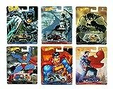 Hot Wheels 2016 Pop Culture Batman v. Superman 6-Car Bundle ('34 Dodge Delivery/71 Chevy El Camino/'80 Dodge Macho Power Wagon/Custom '52 Chevy/Quick D-Livery/Volkswagen T1 Panel Bus)