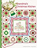 "Grandma's Christmas Kitchen Embroidery Pattern by Meg Hawkey From Crabapple Hill Studio #442 - 45.5"" x 45.5"""