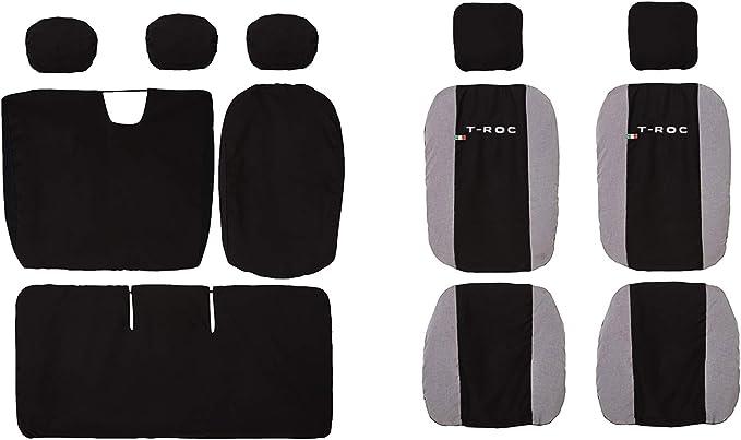 Lupex Shop N.Mch Housses de si/ège compatibles T-ROC