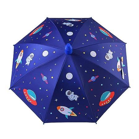 Paraguas Infantil El universo de dibujos animados Lluvia y ...