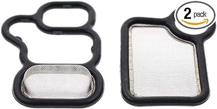 VTEC Solenoid Gasket//Spool Valve Filter Screen Genuine OES for Honda Acura