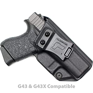 Tulster Glock 43/43X Holster IWB Profile Holster