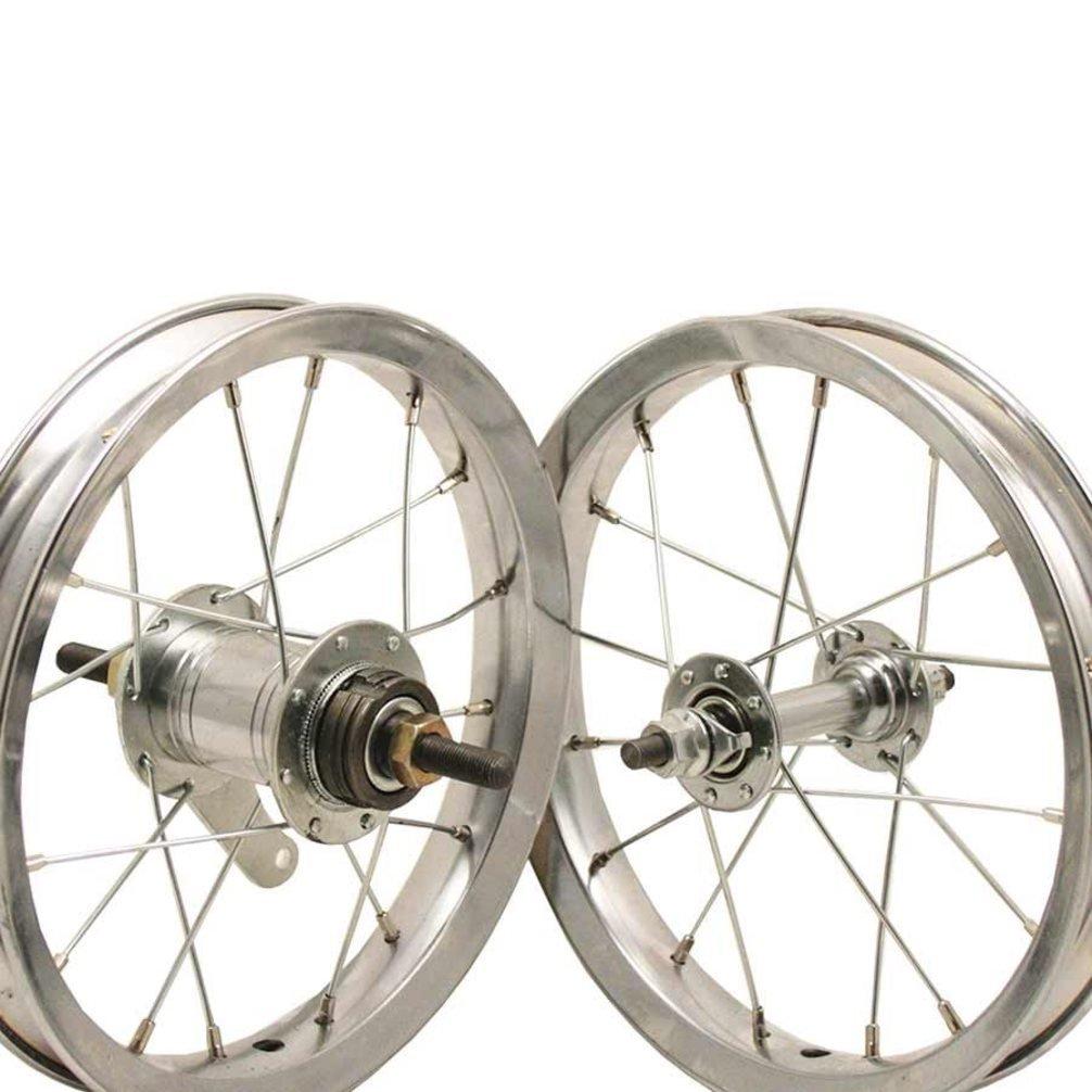 Sta-Tru Steel Hub Front Wheel (12X1.75-Inch)