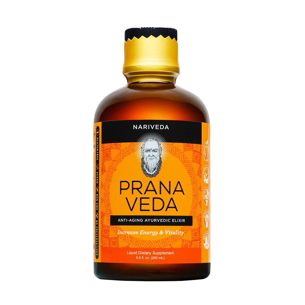 Prana Veda by Nariveda | Clinically Formulated Anti-Aging, Ayurvedic Elixir for Energy