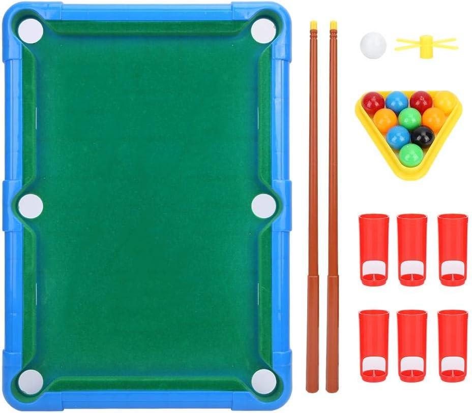 Fishlor Mini Pool Billiards, Mini Billiard Ball Table Game Snooker ...