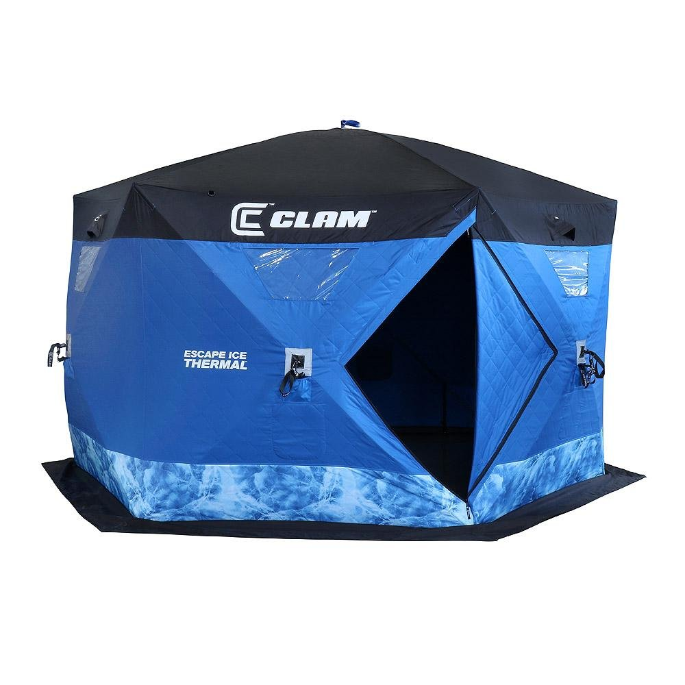 CLAM Escape Ice Thermal 6-sided Shelter 10945 by Clam Corporation