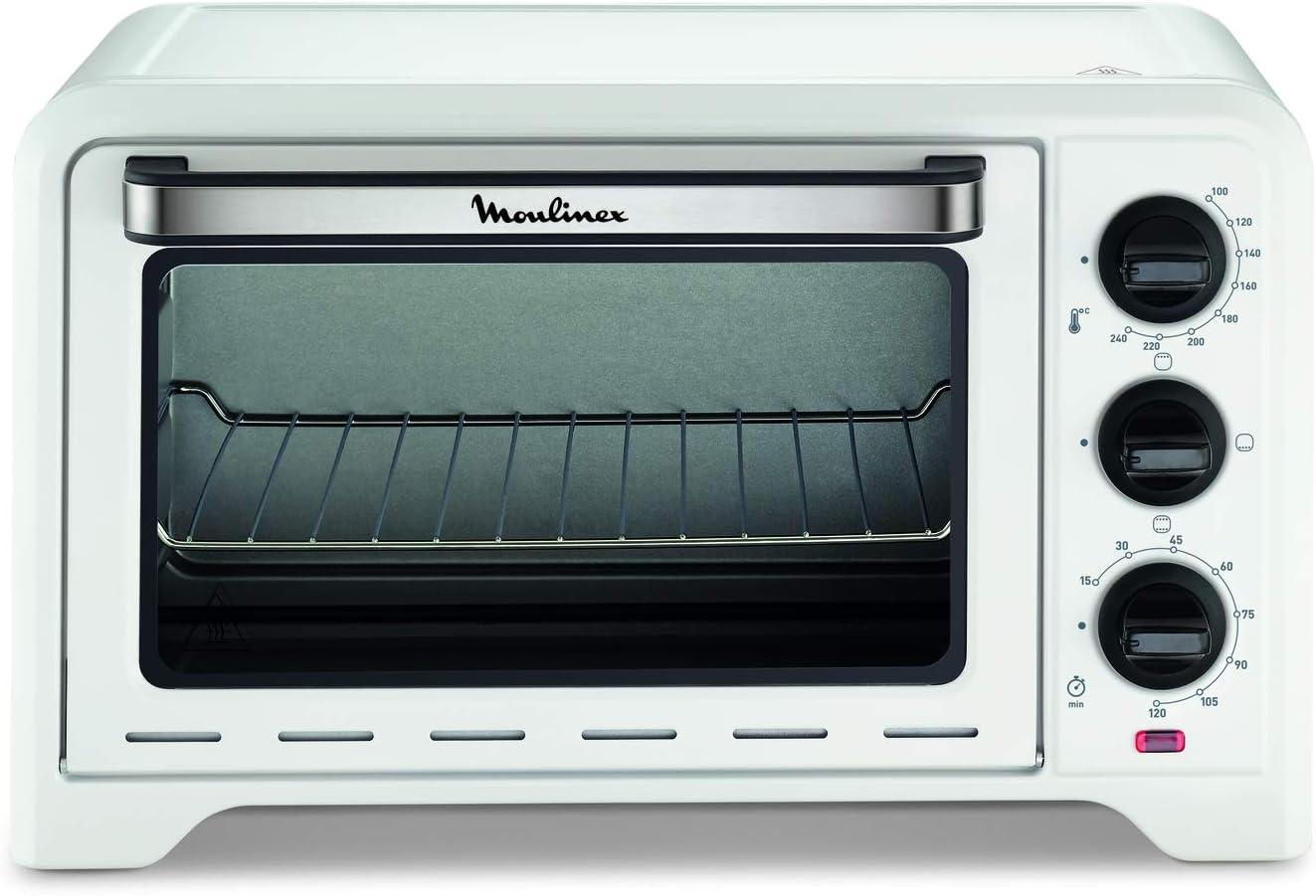 Moulinex Optimo OX441110 - Horno, 19 L, color blanco: Amazon.es: Hogar