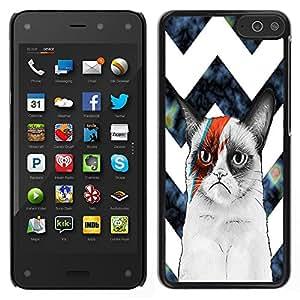 Dragon Case - FOR Amazon Fire Phone - ?Cannot disappear from my world - Caja protectora de pl??stico duro de la cubierta Dise?¡Ào Slim Fit