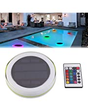 Pond Light,LED Swimming Pool Floating Fountain Light with Remote Control for Pool Pond Tub or Party Decorations
