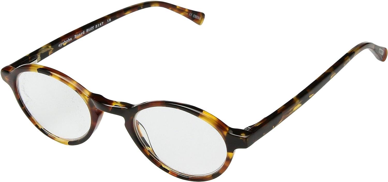 38c5a33623 Amazon.com  eyebobs Unisex Board Stiff Tortoise 1 +1.75  Clothing