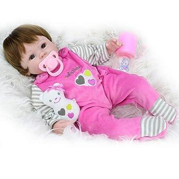 Oreiller de poupée Baby Dolls Réaliste Réaliste Silicone ...