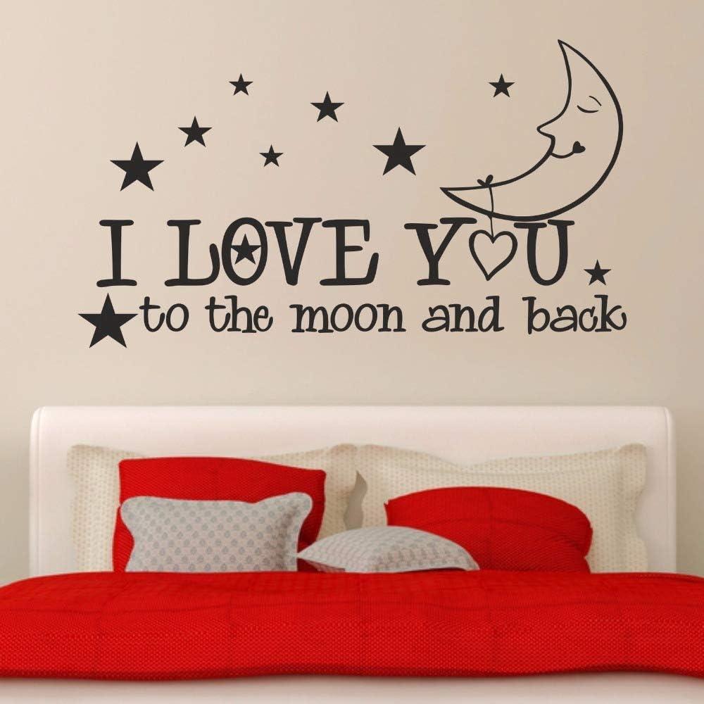 BailongXiao Te Amo a la Luna y la Espalda Estrellas habitación ...