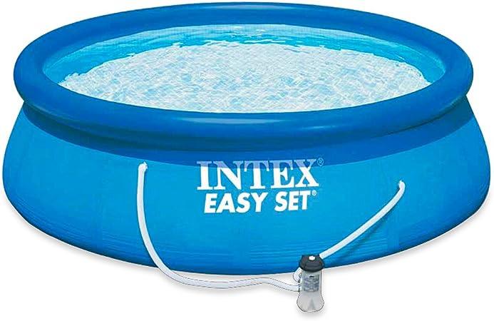 Intex 56932 - Piscina Easy Set con depuradora, 366 x 91 cm ...