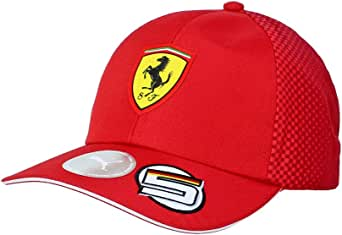 Ferrari Scuderia 2019 F1 Kids Sebastian Vettel Team Hat Red