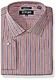 Stacy Adams Mens Big and Tall Mini Check W/Dobby Stripe Classic Fit Dress Shirt
