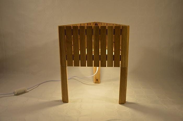 Zapstarra Lampe Bois Design De Poser Chêne En Triangulaire À uJ3T15lKcF