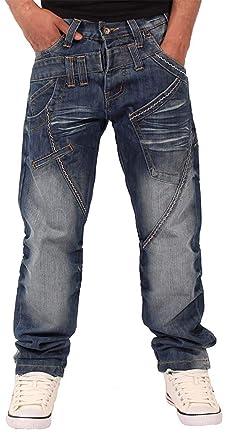 Peviani - Pantalones Vaqueros para Hombre, Doble Lazo ...