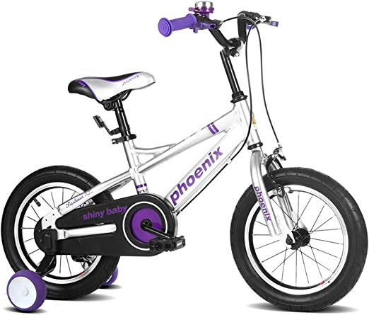 XQ TL-122 bicicletas para niños 3-13 años de edad niño niña espacio aluminio niños tamaño de bicicleta: 115cm (Color : Blanco) : Amazon.es: Hogar